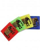 Kolorobia Elephant Majesty Coasters-Set of 4