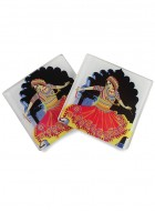 Kolorobia Gujrati Garba Coasters-Set of 4