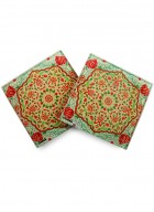 Kolorobia Ornate Mughal Coaster-Set of 4