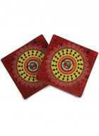 Kolorobia Obsessing Warli Coasters-Set of 4