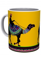 Kolorobia Princely Camel White Mug-Single