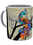 Kolorobia Charismatic Peacock Mug -Single