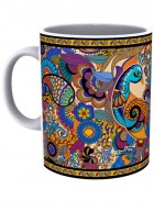 Kolorobia Peacock Admiration Mug-Single