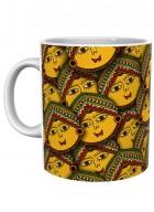Kolorobia Madhubani Revival Mug Design 2-Single
