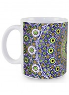 Kolorobia Moroccan Inspiration White Mug-Single