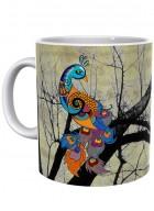 Kolorobia Charismatic Peacock Mug-Single