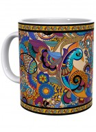 Kolorobia Peacock Admiration Printed Mug-Single