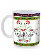 Kolorobia Turkish Fervor White Mug-Single
