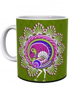 Kolorobia Elegant Warli Peacock Mug-Single