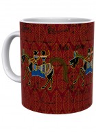 Kolorobia Rustic Warli Mug-Single