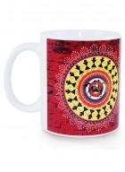 Kolorobia Rustic Warli Printed Mug-Single