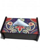 Kolorobia Majestic Paisley Tissue Box