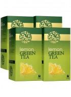 LaPlant Lemon Green Tea-100 Tea Bags-Pack of 4