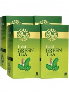 LaPlant Tulsi Green Tea-100 Tea Bags-Pack of 4