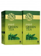 LaPlant Mint Green Tea-50 Tea Bags-Pack of 2