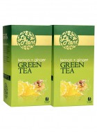 LaPlant Lemon and Ginger Green Tea-50 Tea Bags-Pack of 2
