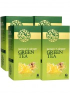 LaPlant Lemon and Ginger Green Tea-100 Tea Bags-Pack of 4