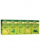 LaPlant Green Tea Gift Pack-125 Tea Bags (Lemon,Tulsi, Mint & Lemon-Ginger)