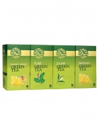 LaPlant Green Tea Gift Pack-100 Tea Bags (Lemon,Tulsi & Lemon-Ginger)