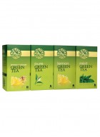 LaPlant Green Tea Gift Pack-100 Tea Bags (Lemon, Mint & Lemon-Ginger)