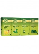 LaPlant Green Tea Gift Pack-100 Tea Bags (Tulsi, Mint & Lemon-Ginger)