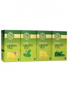 LaPlant Green Tea Gift Pack-100 Tea Bags (Lemon,Tulsi,Mint & Lemon-Ginger)