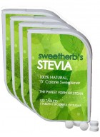 Sweet Herb Stevia Sugarfree-400 Tablets-Pack of 4