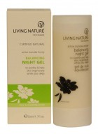 Living Nature Balancing Night Gel with Chamomile and Harakeke