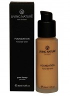 Living Nature Mineral Foundation-Pure Honey