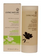 Living Nature Certified Natural Purifying Face Wash with Manuka Flower