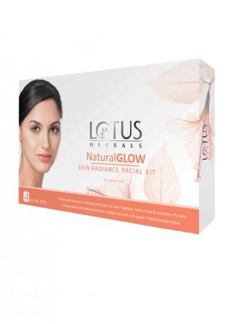 Lotus Herbals Natural Glow Skin Radiance Facial Kit