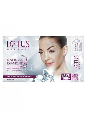 Lotus Herbals Radiant Diamond For Instant Radiance Facial Kit