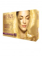 Lotus Herbals Radiant Gold Revitalising Facial Kit