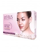 Lotus Herbals Radiant Pearl Deep Cleansing For Skin Lightening Facial Kit