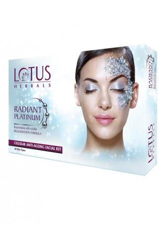 Lotus Herbals Radiant Platinum Rejuvenation with Cellular Regeneration Formula