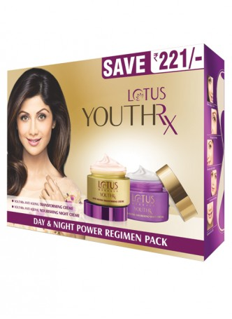 Lotus Herbals Yout-Rx Day Night Pack