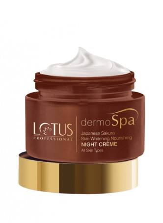 Lotus Professional Dermo Spa Brazillian Anti- Ageing Skin Firming Crème With Spf 20