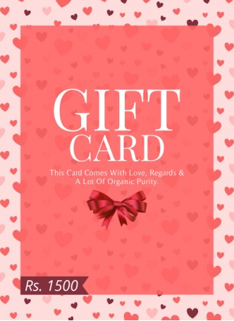 Gift Card 1500