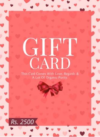 Gift Card 2500