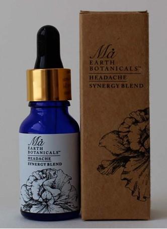 Ma Earth botanicals Headache Synergy Blend