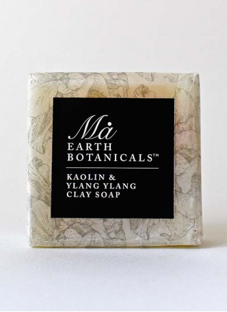 Ma Earth botanicals Kaolin And Ylang Ylang Soap