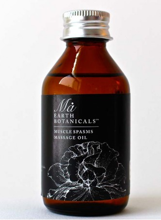 Ma Earth botanicals Muscle Spasm Massage Oil