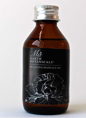 Ma Earth botanicals Relaxing Massage Oil