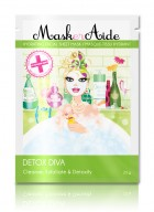 MaskerAide Facial Sheet Mask - Detox Diva