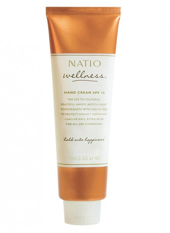 Natio Wellness Hand Cream SPF15