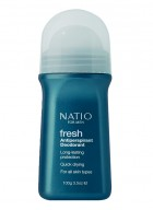 Natio Mens Fresh Roll-On Deodorant 100g