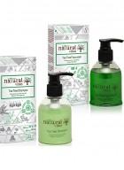 Natural Vibes - Ayurvedic Anti dandruff and Hair fall treatment ( 1 Tea Tree hair repair serum and 1 Tea Tree shampoo )