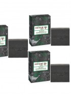 Natural Vibes - Tea Tree and Activated charcoal soap pack of 3