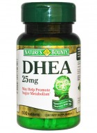 Natures Bounty Dhea 25 Mg 100 Tablets