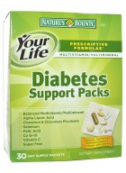 Natures Bounty Diabetes Support Pack 30 Vitamin